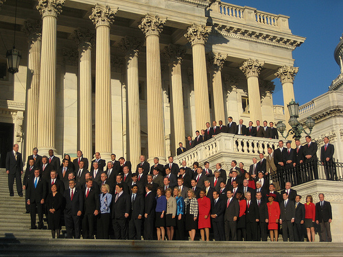 Incoming freshmen of the U.S. House of Representatives